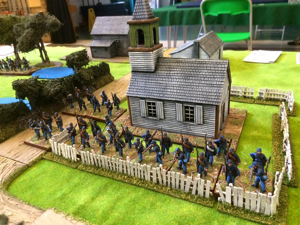 Sharp Practice 2 historical miniatures war game at the BAD Gamers Brackley