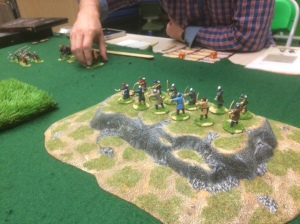 Normans hold the hill